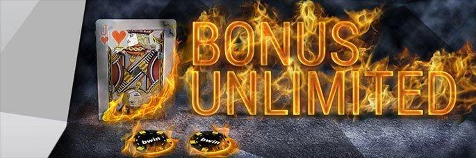 Weitere Informationen zubwin Casino UNLIMITED Boni – Holen Sie sich 25% bis zu 25€ auf jede Einzahlung!/bwin Casino
