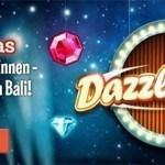 Weitere Informationen zuLeoVegas Dazzle Me – 4 Wochen lang jede Menge Freispiele und tolle Boni gewinnen!/LeoVegas