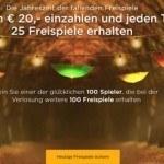 Weitere Informationen zuMr Green Freispiele Sonderangebot – 25 Free Spins pro Tag erhalten!/Mr Green