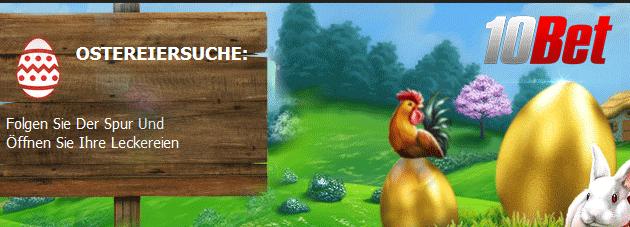 Weitere Informationen zuGroße Ostereiersuche mit Freispiele bei Wonky Wabbits im 10Bet Casino/10Bet Casino
