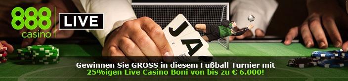 Weitere Informationen zu888 Casino gibt einen Bonus bis zu $6000 zur EM 2016/888 Casino