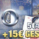 Weitere Informationen zu5 Euro einzahlen und 15 Euro geschenkt – Für Neukunden von Stake7/Stake7