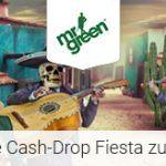 Weitere Informationen zuBei Mr Green mit der Cash-Drop Fiesta 10.000€ gewinnen/Mr Green