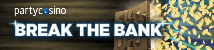 """Weitere Informationen zuDie Partycasino """"Break the Bank""""-Aktion – Es winken Preise im Gesamtwert von 3.900,00 $!/Partycasino"""