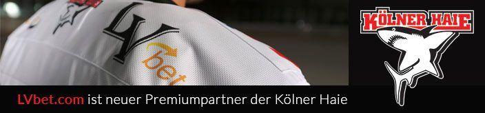 Weitere Informationen zuLVbet ist der neue Premiumpartner der Kölner Haie/LVbet Casino