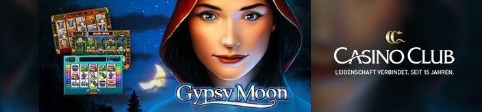 Weitere Informationen zuGypsy Moon spielen und 99 Freispiele im Casino Club erhalten/Casino Club