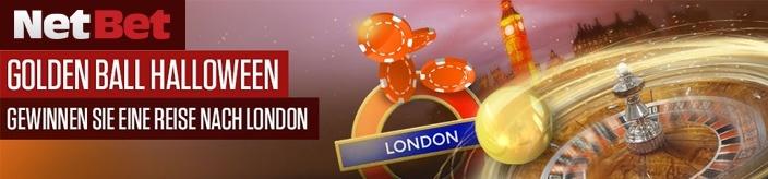 Weitere Informationen zuNetBet lädt ein: Golden Balls sammeln und Halloween in London verbringen!/NetBet Casino