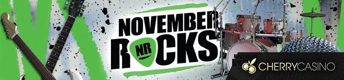 Weitere Informationen zuCherryCasino November Rocks – Reise und Geldpreise im Gesamtwert von 25.000 € zu gewinnen/Cherry Casino