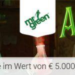 Weitere Informationen zuMr Green schüttet 5000 Euro Bargeld aus/Mr Green