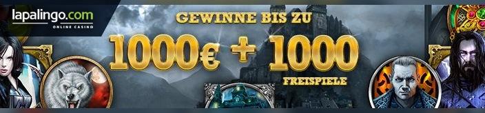 Weitere Informationen zuDie True Adventure Aktion von Lapalingo: bis zu 1000 Euro + 1000 Free Spins gewinnen/Lapalingo