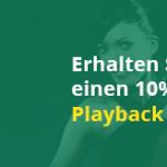 Weitere Informationen zuDienstags 10% Playback-Bonus bis zu 100€ bei Bet365 Casino bekommen/Bet365 Casino