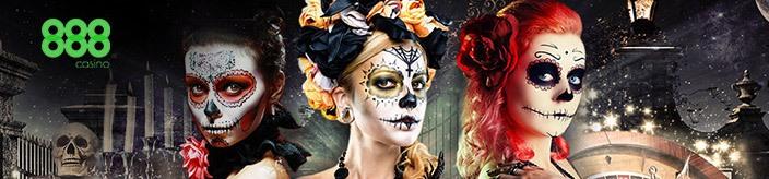 Weitere Informationen zuSpezieller Live Casino Bonus bei 888 Casino zu Halloween/