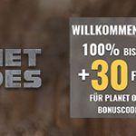Weitere Informationen zuEUcasino bietet exklusiv 200 Euro Bonus und 30 Free Spins für Planet of the Apes an/