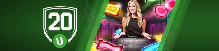 Weitere Informationen zuBei Unibet Casino 20 Free Spins erhalten und 20 000€ in Geldpreisen gewinnen/