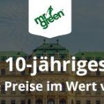 Weitere Informationen zu10 Jahre Mr Green wird ordentlich gefeiert – Mit Preisen im Wert von 5.000.000€/Mr Green