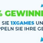 Weitere Informationen zuBei 1xBet Casino werden die Gewinne verdoppelt!/