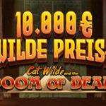 Weitere Informationen zuDas 10.000€ Doom of Dead Leaderboard von Platin Casino mit vielen attraktiven Gewinnen/